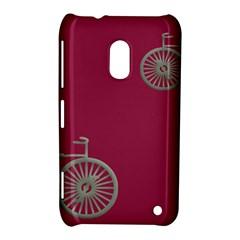 Rose Pink Fushia Nokia Lumia 620 by AnjaniArt