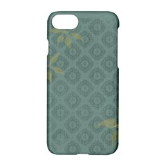 Shadow Flower Apple Iphone 7 Hardshell Case by AnjaniArt