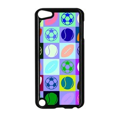 Sports Ball Apple Ipod Touch 5 Case (black) by AnjaniArt