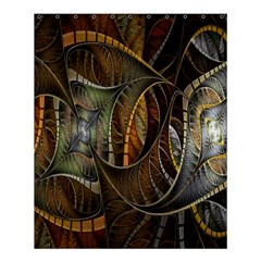 Mosaics Stained Glass Shower Curtain 60  X 72  (medium)  by AnjaniArt