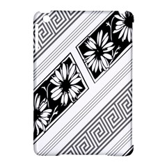 Stripe Seamless Flower Apple Ipad Mini Hardshell Case (compatible With Smart Cover) by AnjaniArt