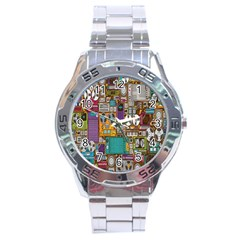 Rol The Film Strip Stainless Steel Analogue Watch by AnjaniArt