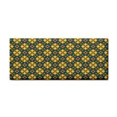 Arabesque Flower Yellow Cosmetic Storage Cases by Jojostore