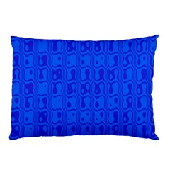 Blue Pillow Case (two Sides) by Jojostore