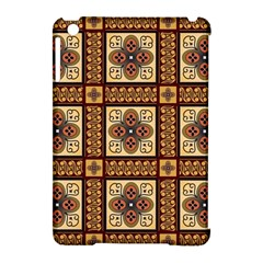 Batik Flower Brown Apple Ipad Mini Hardshell Case (compatible With Smart Cover) by Jojostore