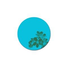 Blue Flower Golf Ball Marker by Jojostore