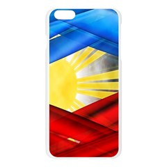 Blue Red Yellow Colors Apple Seamless iPhone 6 Plus/6S Plus Case (Transparent) by Jojostore