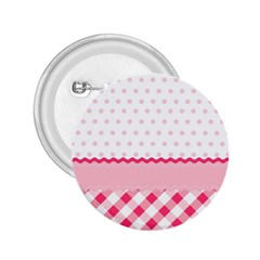 Cute Cartoon Decorative Pink 2 25  Buttons by Jojostore