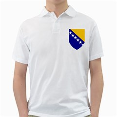 Coat of Arms of Bosnia And Herzegovina Golf Shirts by abbeyz71