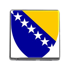 Coat Of Arms Of Bosnia And Herzegovina Memory Card Reader (square) by abbeyz71