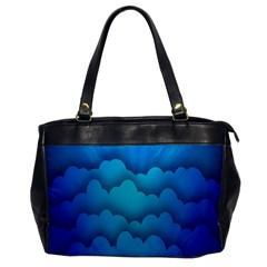 Blue Sky Jpeg Office Handbags by Jojostore