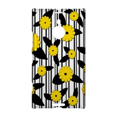 Yellow Floral Pattern Nokia Lumia 1520 by Valentinaart