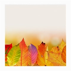 Autumn Leaves Colorful Fall Foliage Medium Glasses Cloth by Amaryn4rt