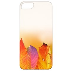 Autumn Leaves Colorful Fall Foliage Apple Iphone 5 Classic Hardshell Case by Amaryn4rt