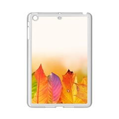 Autumn Leaves Colorful Fall Foliage Ipad Mini 2 Enamel Coated Cases by Amaryn4rt
