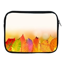 Autumn Leaves Colorful Fall Foliage Apple Ipad 2/3/4 Zipper Cases by Amaryn4rt