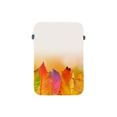 Autumn Leaves Colorful Fall Foliage Apple Ipad Mini Protective Soft Cases by Amaryn4rt