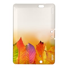 Autumn Leaves Colorful Fall Foliage Kindle Fire Hdx 8 9  Hardshell Case by Amaryn4rt
