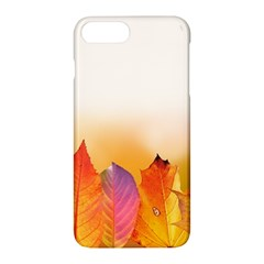 Autumn Leaves Colorful Fall Foliage Apple Iphone 7 Plus Hardshell Case by Amaryn4rt
