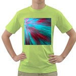 Background Texture Pattern Design Green T-Shirt