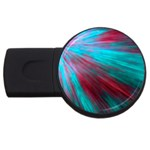 Background Texture Pattern Design USB Flash Drive Round (2 GB)