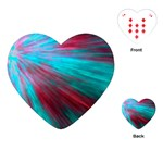 Background Texture Pattern Design Playing Cards (Heart)