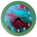 Background Texture Pattern Design Color Wall Clocks