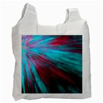 Background Texture Pattern Design Recycle Bag (Two Side)