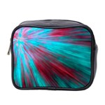 Background Texture Pattern Design Mini Toiletries Bag 2-Side