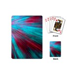Background Texture Pattern Design Playing Cards (Mini)