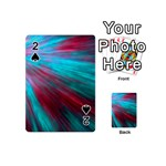 Background Texture Pattern Design Playing Cards 54 (Mini)
