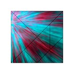 Background Texture Pattern Design Acrylic Tangram Puzzle (4  x 4 )