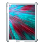 Background Texture Pattern Design Apple iPad 3/4 Case (White)