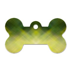 Background Textures Pattern Design Dog Tag Bone (one Side)