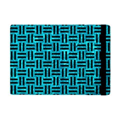 Woven1 Black Marble & Turquoise Marble (r) Apple Ipad Mini 2 Flip Case by trendistuff