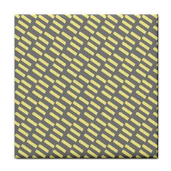 Yellow Washi Tape Tileable Tile Coasters by Jojostore