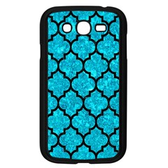 Tile1 Black Marble & Turquoise Marble (r) Samsung Galaxy Grand Duos I9082 Case (black) by trendistuff
