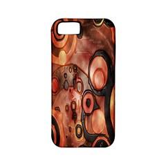 Orange Black Abstract Artwork Apple Iphone 5 Classic Hardshell Case (pc+silicone) by Jojostore