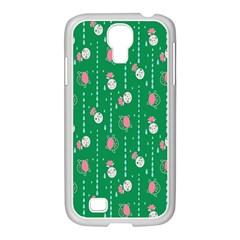 Pig Face Samsung Galaxy S4 I9500/ I9505 Case (white) by Jojostore