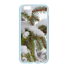 Brad Snow Winter White Green Apple Seamless iPhone 6/6S Case (Color) by Amaryn4rt