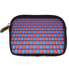 Red Blue Digital Camera Cases by Jojostore