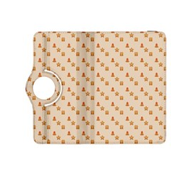 Christmas Wrapping Paper Kindle Fire Hdx 8 9  Flip 360 Case
