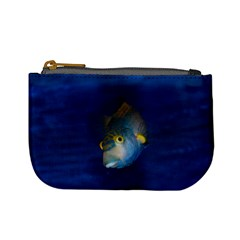 Fish Blue Animal Water Nature Mini Coin Purses by Amaryn4rt