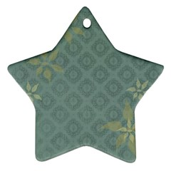 Shadow Flower Star Ornament (two Sides)  by Jojostore