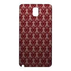 Red Vintage Samsung Galaxy Note 3 N9005 Hardshell Back Case by Jojostore