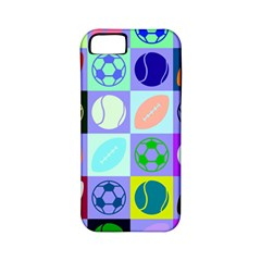 Sports Ball Apple Iphone 5 Classic Hardshell Case (pc+silicone) by Jojostore