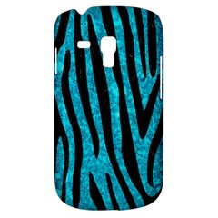 Skin4 Black Marble & Turquoise Marble Samsung Galaxy S3 Mini I8190 Hardshell Case by trendistuff
