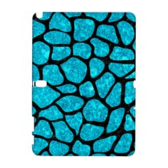 Skin1 Black Marble & Turquoise Marble Samsung Galaxy Note 10 1 (p600) Hardshell Case by trendistuff