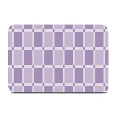 Gray Purple Plate Mats by Jojostore