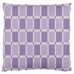 Gray Purple Large Cushion Case (two Sides) by Jojostore
